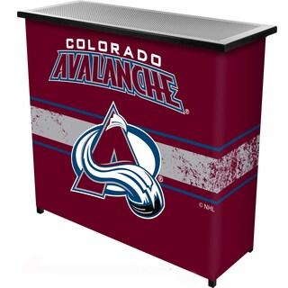 NHL Portable Bar with Case - Colorado Avalanche