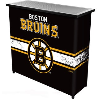 NHL Portable Bar with Case - Boston Bruins