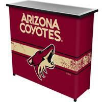 NHL Portable Bar with Case - Arizona Coyotes