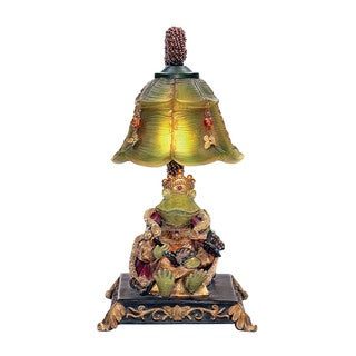 Sterling Resting Queen Frog Mini Accent Table Lamp