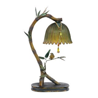 Sterling Perching Finch Lamp