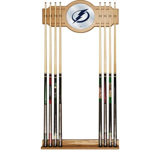 NHL Cue Rack with Mirror - Tampa Bay Lightning