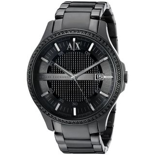 Armani Exchange Men's AX2173 'Hampton' Crystal Two-Tone Stainless Steel Watch