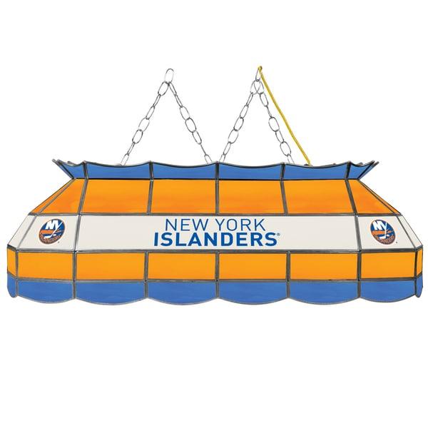 NHL  Handmade Tiffany Style Lamp - 40 Inch - New York Islanders