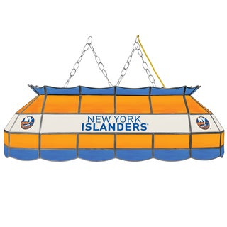 NHL  Handmade Tiffany Style Lamp - 40 Inch - New York Islanders