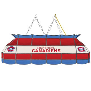 NHL  Handmade Tiffany Style Lamp - 40 Inch - Montreal Canadiens