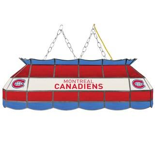 NHL Handmade Tiffany Style Lamp - 40 Inch - Montreal Canadiens