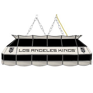 NHL  Handmade Tiffany Style Lamp - 40 Inch - Los Angeles Kings