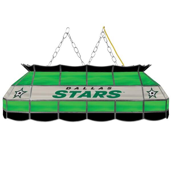 NHL Handmade Tiffany Style Lamp - 40 Inch - Dallas Stars