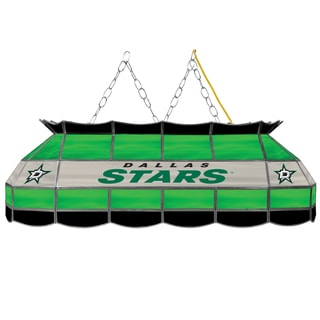 NHL  Handmade Tiffany Style Lamp - 40 Inch - Dallas Stars