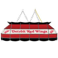 NHL  Handmade Tiffany Style Lamp - 40 Inch - Detroit Redwings
