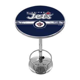 NHL Chrome Pub Table - Winnipeg Jets