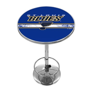 NHL Chrome Pub Table - Tampa Bay Lightning
