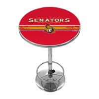 NHL Chrome Pub Table - Ottawa Senators