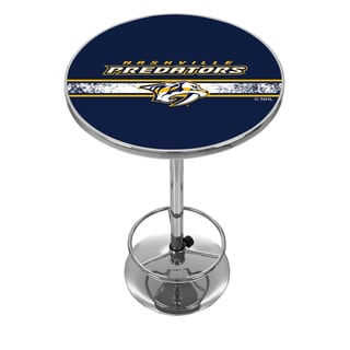 NHL Chrome Pub Table - Nashville Predators