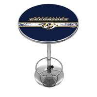 NHL Chrome Pub Table - Nashville Predators