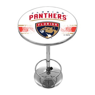 NHL Chrome Pub Table - Florida Panthers