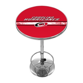 NHL Chrome Pub Table - Carolina Hurricanes