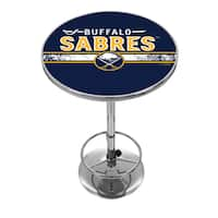 NHL Chrome Pub Table - Buffalo Sabres