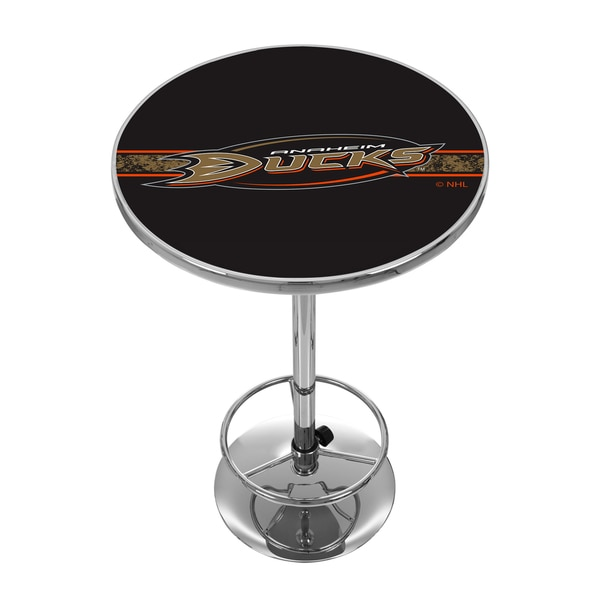 NHL Chrome Pub Table - Anaheim Ducks