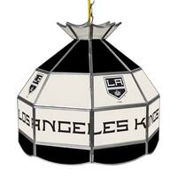 NHL 16 Inch Handmade Tiffany Style Lamp - Los Angeles Kings