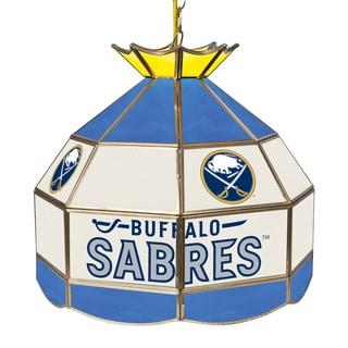 NHL 16 Inch Handmade Tiffany Style Lamp -Buffalo Sabres