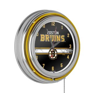NHL Chrome Double Rung Neon Clock - Boston Bruins|https://ak1.ostkcdn.com/images/products/10746240/P17801254.jpg?impolicy=medium