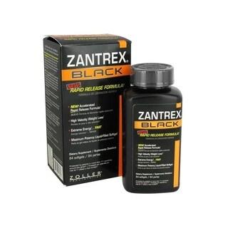 Zantrex Black Rapid Release Weight Loss Formula (84 Softgels)