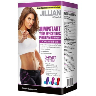 Jillian Michaels JumpStart 14-Day Cleanse and Burn Weight Loss Kit