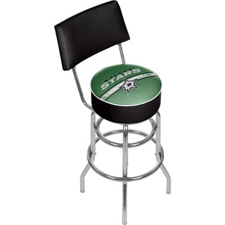 NHL Swivel Bar Stool with Back - Dallas Stars