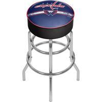 NHL Chrome Bar Stool with Swivel - Washington Capitals