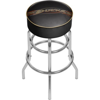 NHL Chrome Bar Stool with Swivel - Anaheim Ducks