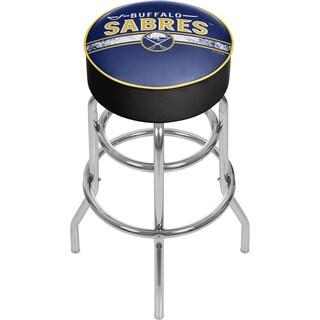 NHL Chrome Bar Stool with Swivel - Buffalo Sabres