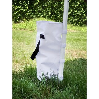 White Canopy Sand Bags for Gigatent Canopies (Pack of 4)