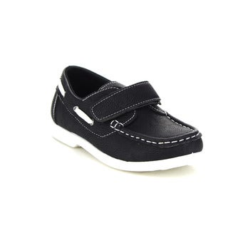Beston GA58 Children Boys Comfort Hook-And-Loop Athletic Slip On Oxford Loafer