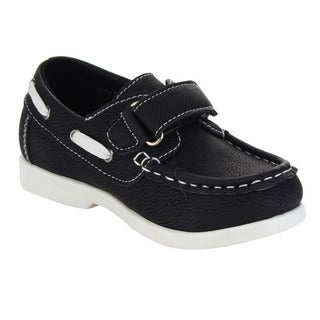 Beston GA59 Children Toddlers Hook-And-Loop Slip On Athletic Oxford Loafers