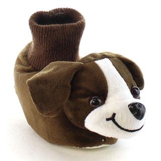 Beston EA15 Girl's Toddler Lovely Animal Detailing Indoor Booties