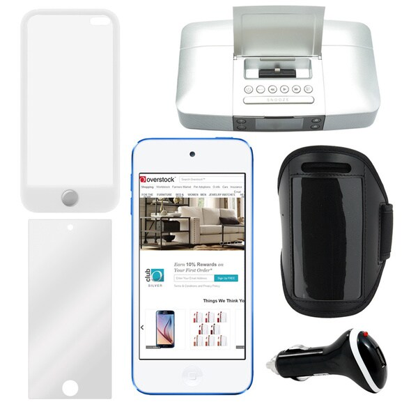 apple 6th gen 2015 64gb ipod touch with accessories bundle free shipping today. Black Bedroom Furniture Sets. Home Design Ideas