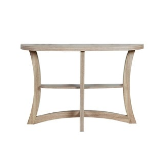 ACCENT TABLE DARK TAUPE HALL CONSOLE