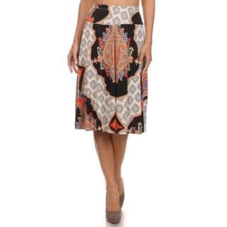 MOA Collection Women's Reg & Plus Size Skirt