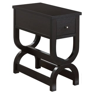 Cappuccino with Drawer Accent Table