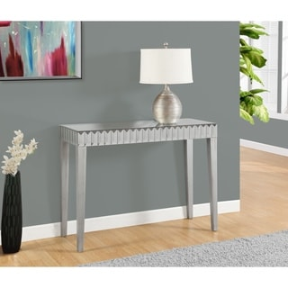 Inspire q fascual 2 drawer mirrored console table 16775263 shopping great - Mirrored console table overstock ...