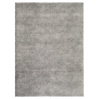 porch u0026 den marigny kerlerec solid light grey indoor shag area rug 5u00273