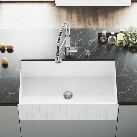 Buy Apron Front Kitchen Sinks Online at Overstock.com | Our Best ...