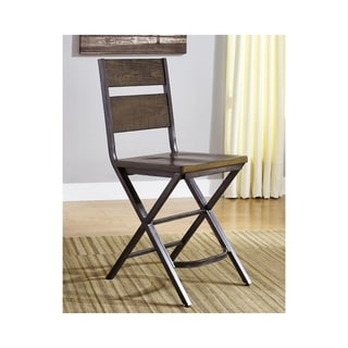 Signature Design by Ashley Kavara Medium Brown 24-inch Barstool