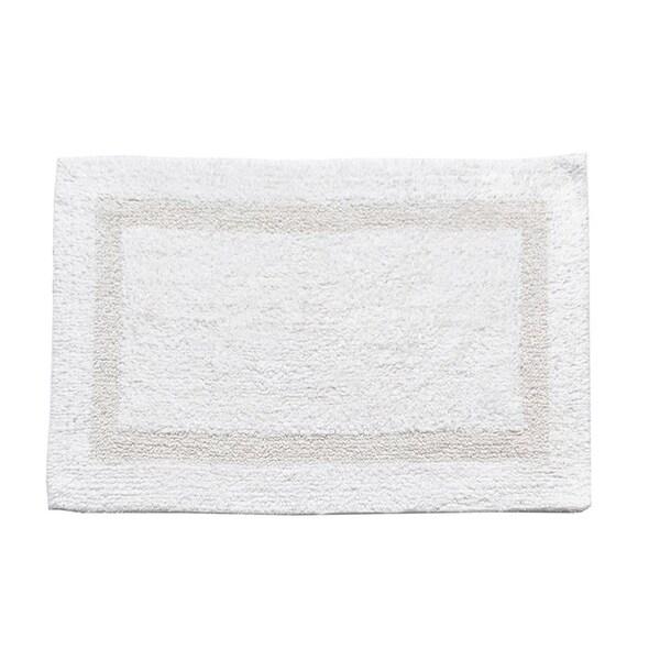 100-percent Cotton Reversible Bathmat - 17x24 - 17 x 24