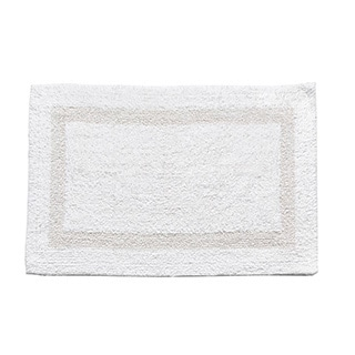 100-percent Cotton Reversible Bathmat - 17x24 - 17 x 24