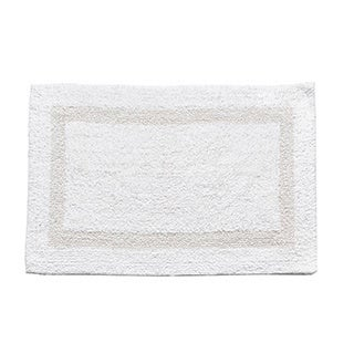 100-percent Cotton Reversible Bathmat - 17x24