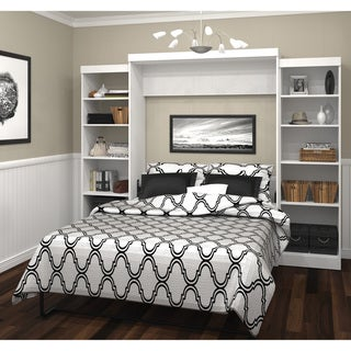 Link to Pur by Bestar Queen Wall Bed Kit with Storage Units Similar Items in Bedroom Furniture