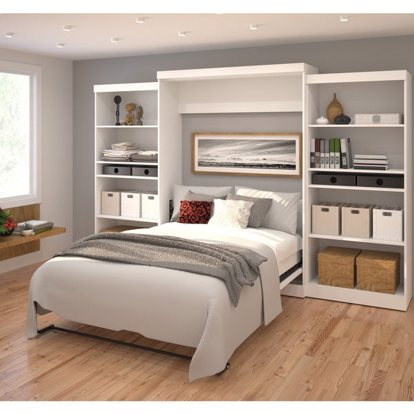 Pur By Bestar 136 Queen Wall Bed Kit Free Shipping Today 17801789